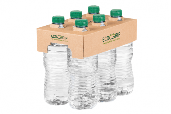 Ecogrip Delivers the sustainable multi-packaging of bottles